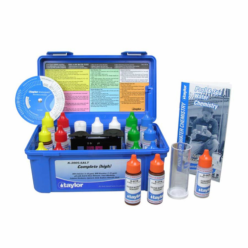 K-2005-Salt Complete High DPD Professional Test Kit w/ Salt