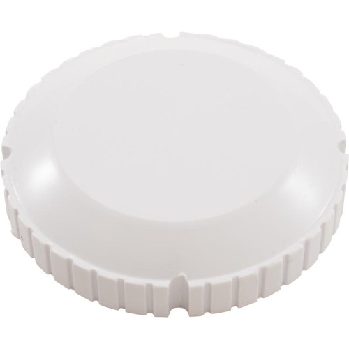 Threaded Cap, Flow Outlet, White
