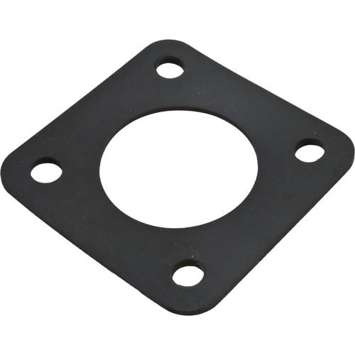 """Gasket, 3-1/4"""" x 3-1/4""""OD, Pot to Volute, Rubber, Generic"""