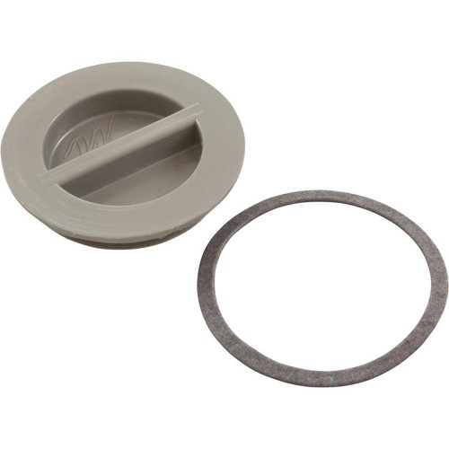 "Flush Plug 1 1/2"" W/Gasket-Gray"