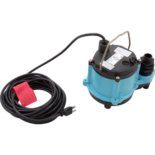 Pump, Submersible, Little Giant 6-CIM-R, 115v,46GPM,25' Cord