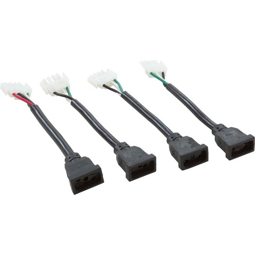 Cable Kit Adaptor Amp-M To JJM-F 6In