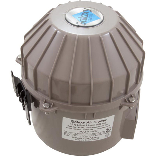 Blower, Air Supply Galaxy V2, 1.0hp, 230v, 3.0A, Hardwire