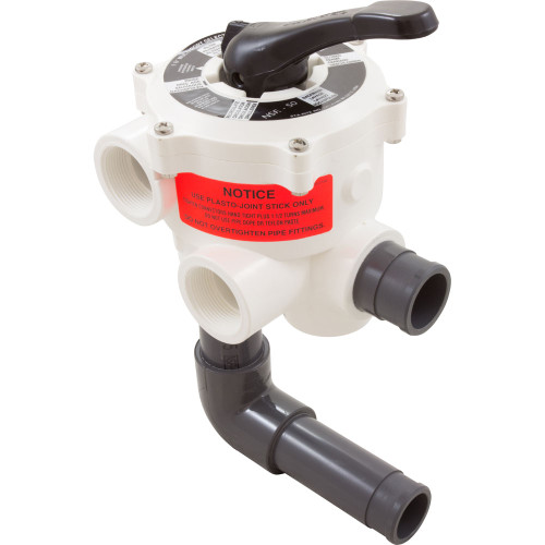 "Multiport Valve, Sta-Rite Pentair 1-1/2"" Side Mount, 6 Pos"