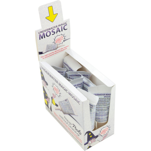 Sealant, Underwater Magic Mosaic, 2.1 oz Tube, 8ct, White