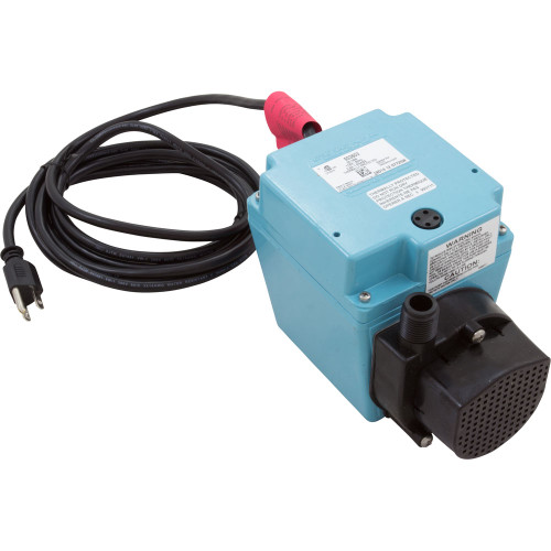 Pump, Submersible, Little Giant 3E-34N, 670 GPH, 200W, 10' Cord