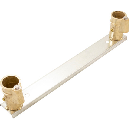 """Anchor Socket Channel, Perma Cast, 4"""" Bronze, For 1.9"""" Tube"""