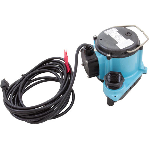 Pump, Sump, Little Giant 8-CIM, 4/10hp, 115v, 45 GPM, 25ft Cord