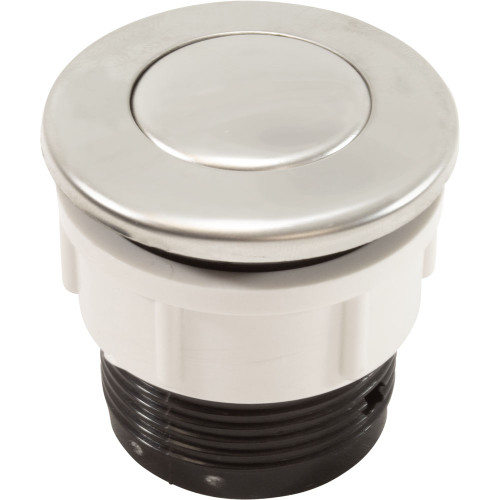 Flush Air Button, Polished S/S