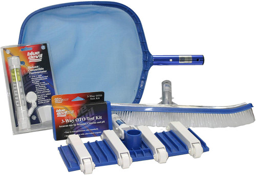 Blue Devil Concrete Pool Maintenance Kit, B5029