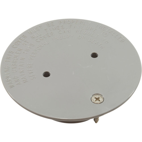 Floor Inlet Fitting Cover Wth Screw Gray