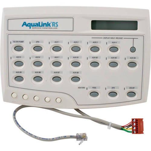 Service Control, Zod Jandy AquaLink All Button RS16, w/Cable