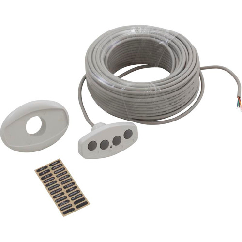 Control Panel, Pentair, IntelliTouch, iS4, 100ft Cord, White