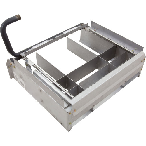 Burner Tray, Raypak Model R335, with out Burner, Sea Level