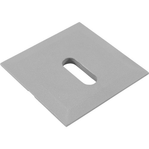 Deck Jet (J-Style) Square Cover Gray