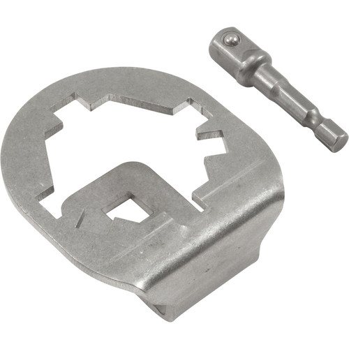 Tool, Socket, 3 and 4-Lobe Clamp Knob, Stainless Steel