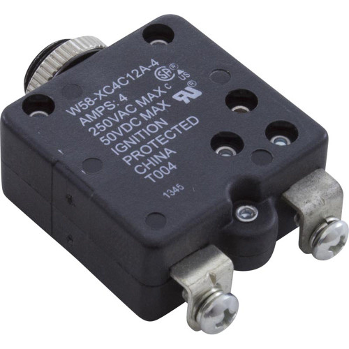 Circuit Breaker, Panel Mount, 4A, 115v