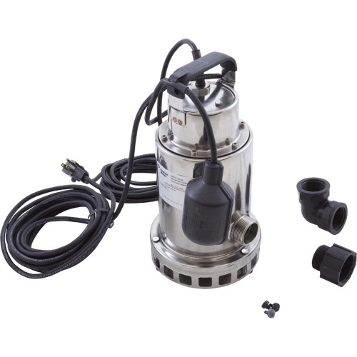 Pump, Submersible, Pentair Sta-Rite, 0.5hp, 115v, Stainless, OEM