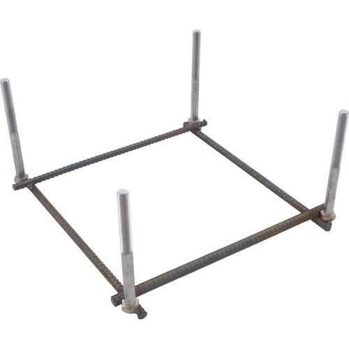 Mounting Jig, Inter-Fab Techni-Spring Steel Base, with Bolts