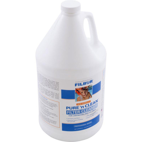 Cartridge and Grid Cleaner, Filbur, Pure and Clean, 1 Gallon