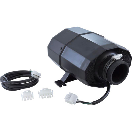 Blower, HydroQuip Silent Aire, 1.5hp, 115v, 5.8A, 3 or 4 pin AMP