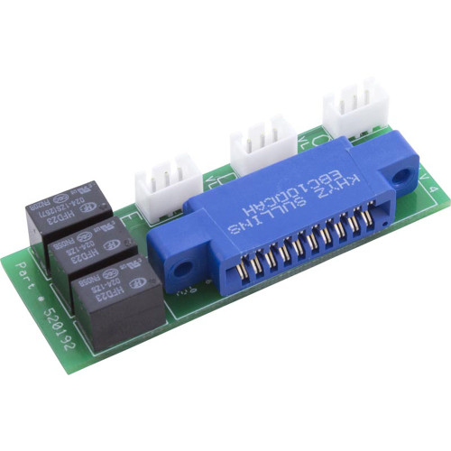 Valve Module, Pentair, IntelliTouch, for up to 3 actuators