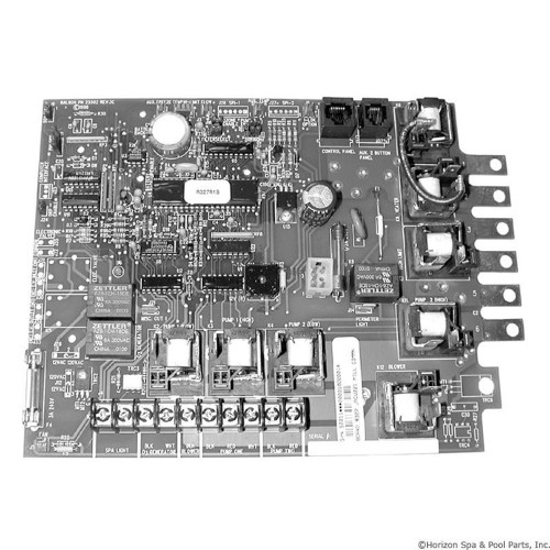 PCB, Jacuzzi, R327, R641, ME Serial Deluxe, with Phone Plug