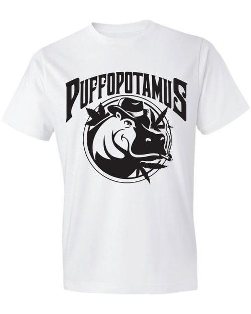 Puffopotamus Logo Tee