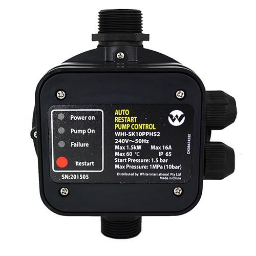Pump controller 1.5 Bar start