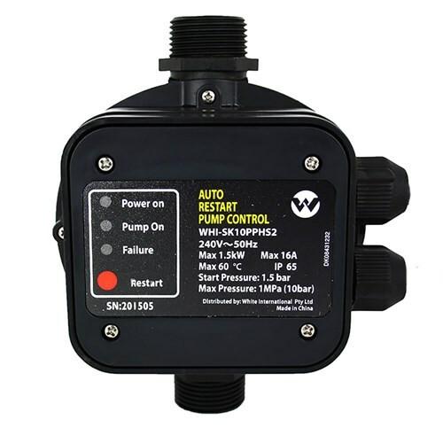 Pump controller 2.2 Bar start