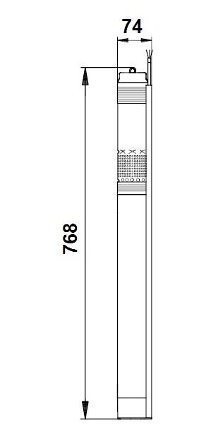 SQ 1-65 N dimensions