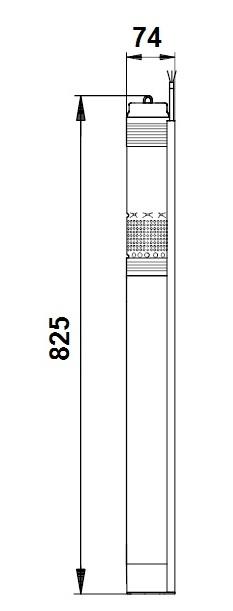 SQ 1-80 N dimensions