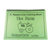Raised Line Coloring Book