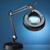 Luxo 5D Illuminated Magnifying Lamp 30 inch arm, 22watt lamp