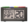 Recordable Talking Alarm Clock - Pill Reminder A/C Adapter Included