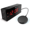 TimeShaker Alarm Clock with Wired Bedshaker