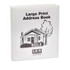 Large Print, Loose Leaf Address Book