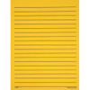 Yellow Bold Line Paper, Single Sided, 100 Sheets