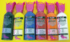 Rainbow Tactile Marking Liquids, 1.25 ounce tubes orange, yellow, green, red, blue and black