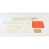 Bump Dot Assorted Pack  -  Clear - Orange - LD-2