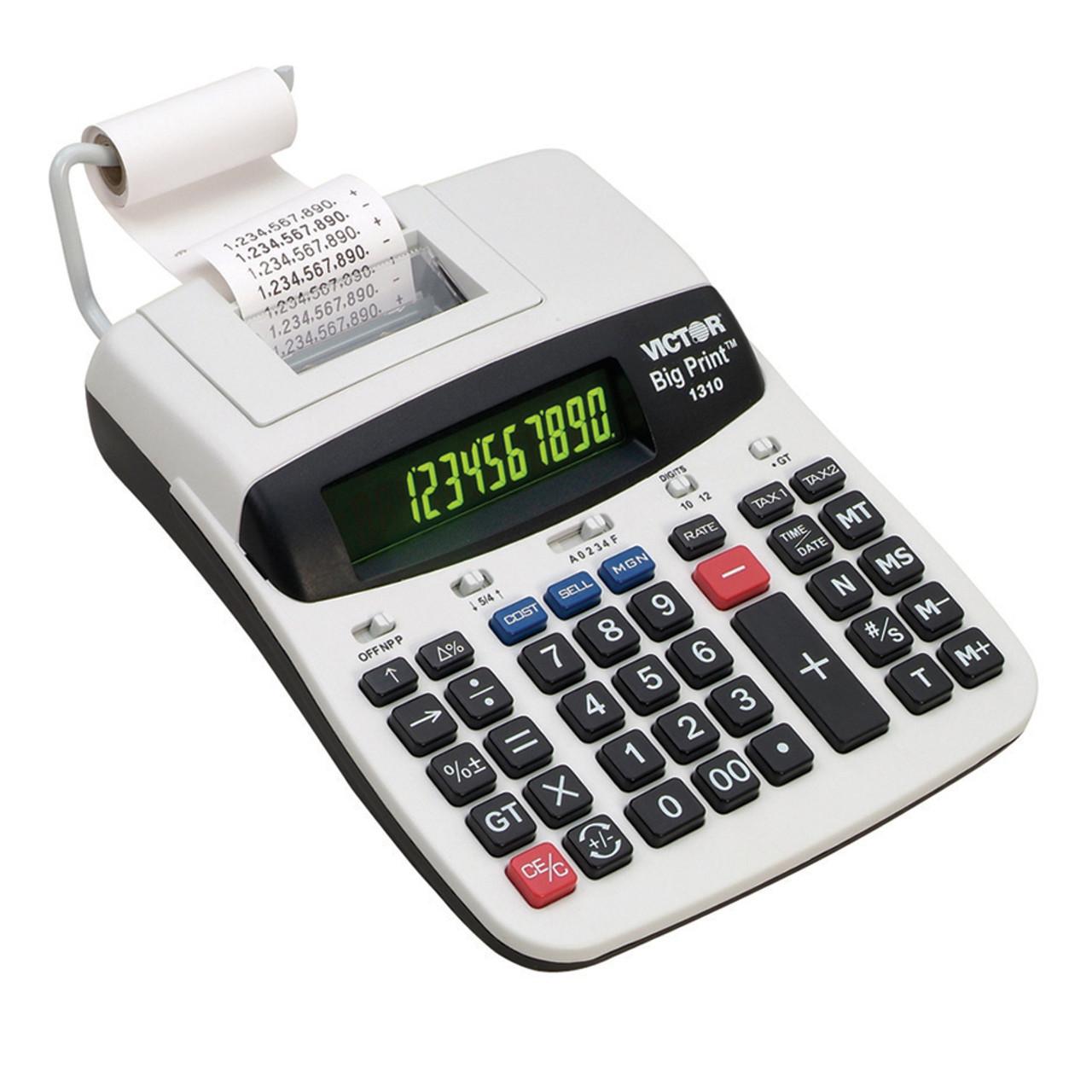 Large Print 10 Digit Desk Calculator