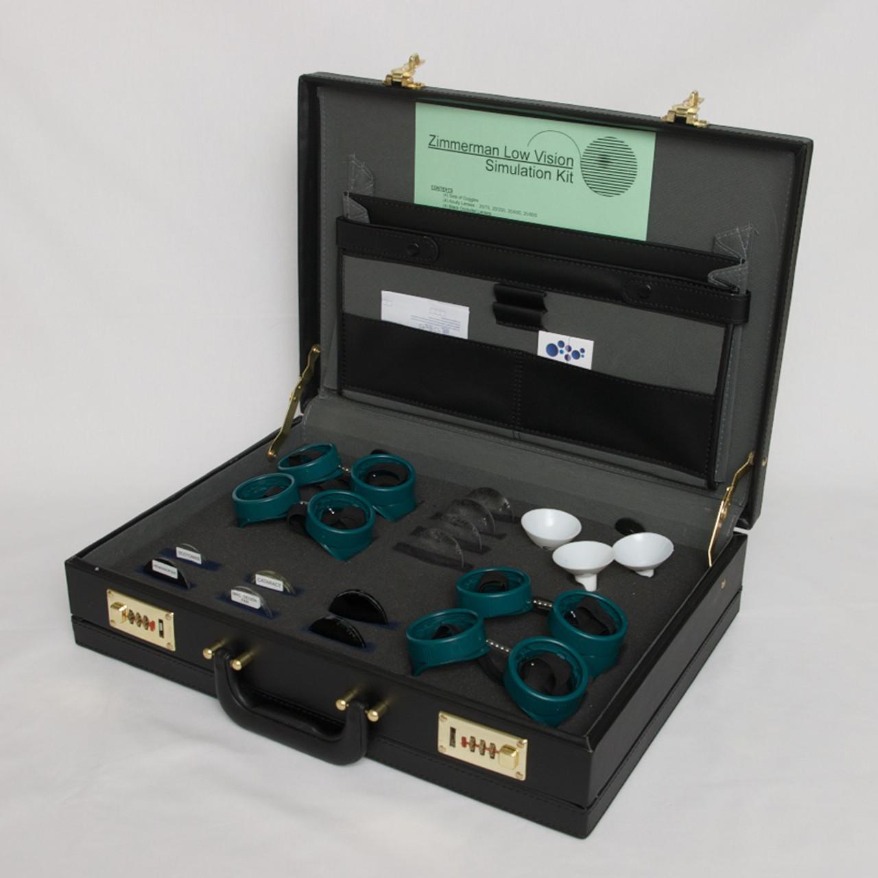 Zimmerman Low Vision Simulation Kit