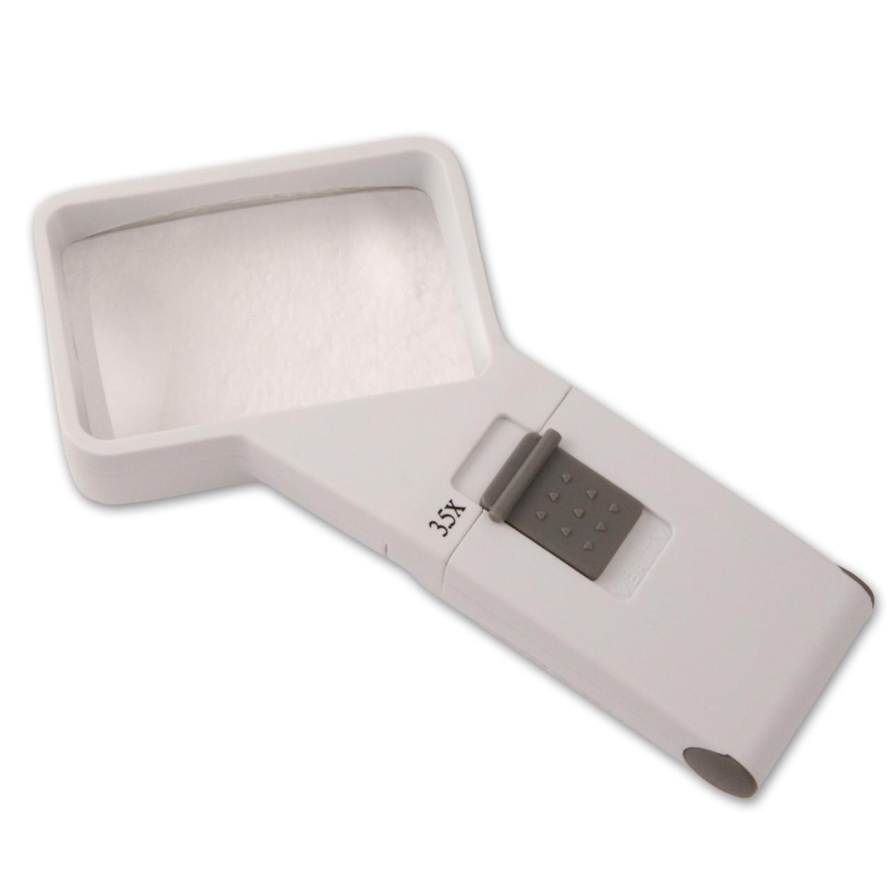 Handheld Magnifier 3.5X / 10D Rectangular
