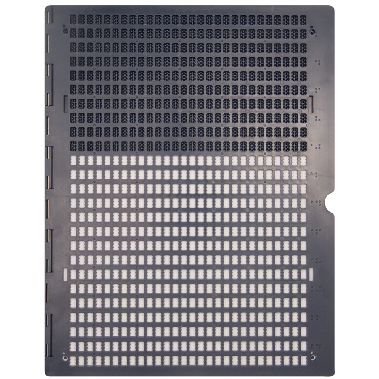 Braille Plastic Full Page Slate 25 x 28, bottom pins