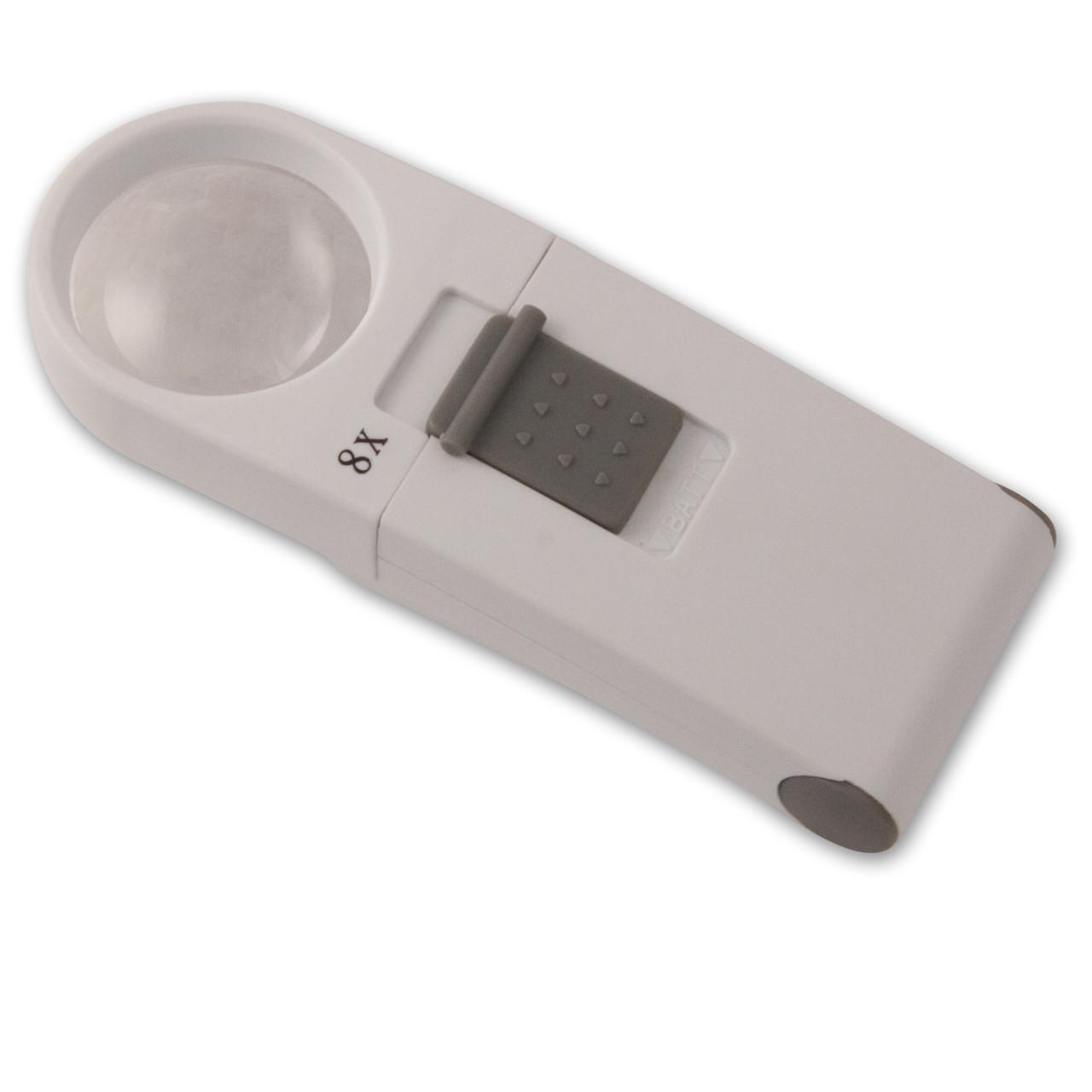 Handheld Magnifier 8X / 28D Round