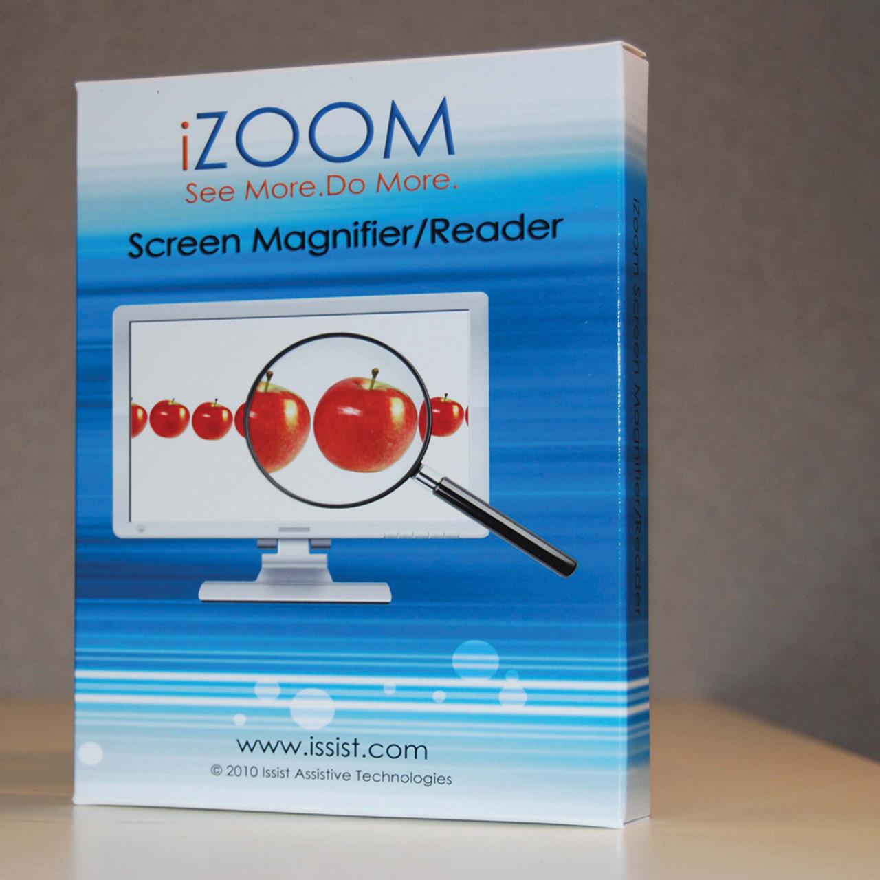 IZOOM Magnifier/ Reader USB version 6.0