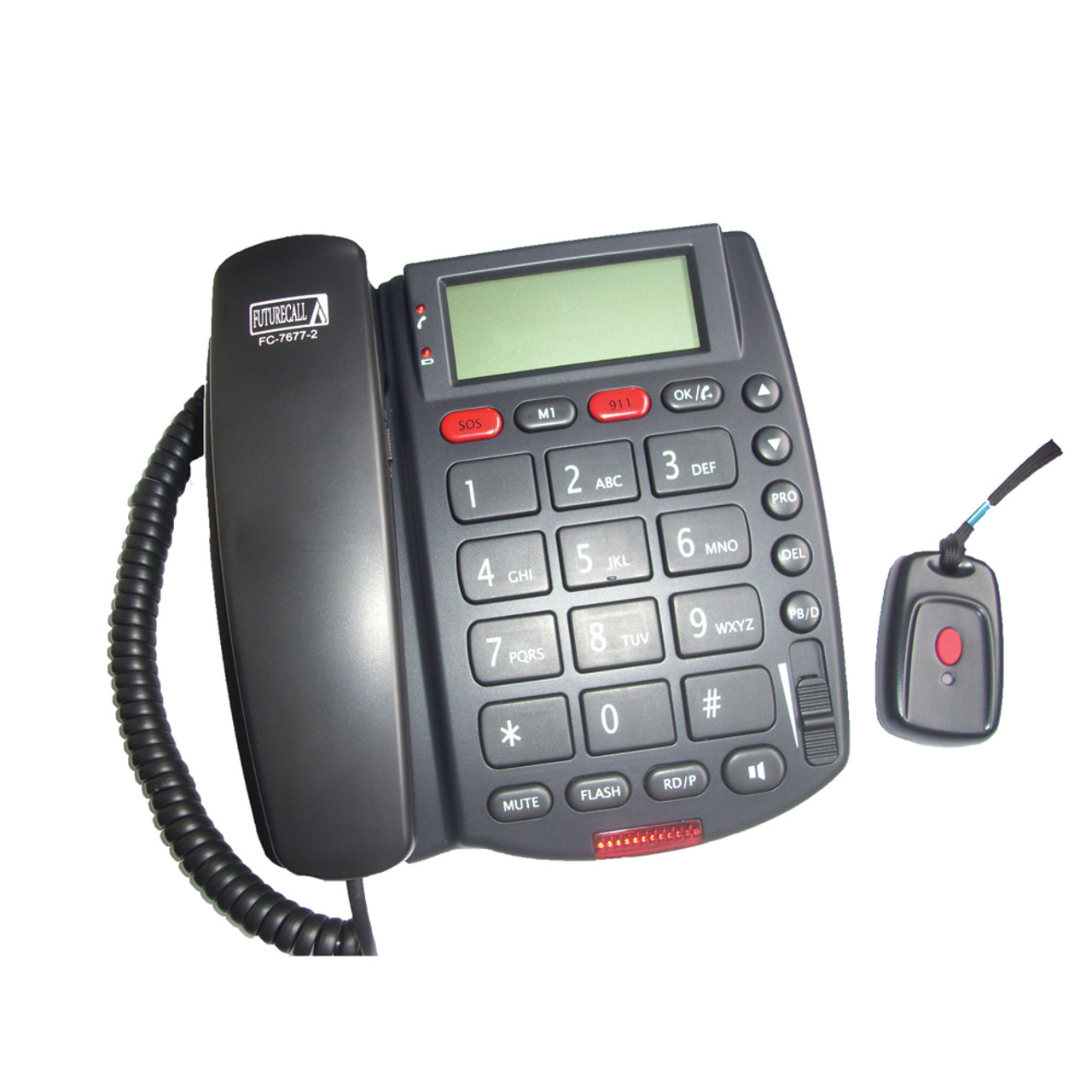 SOS Phone With 40dB Amplification