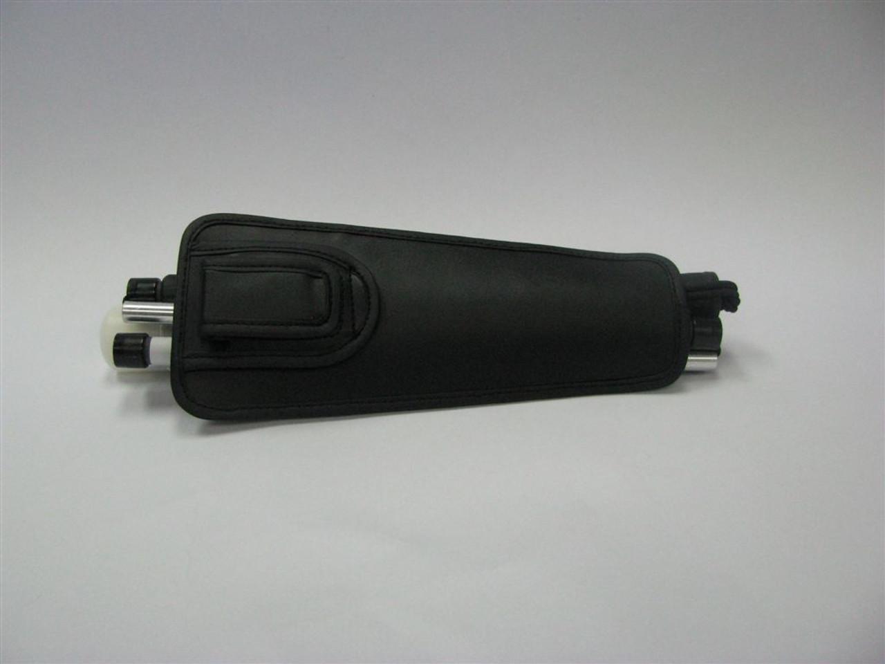 Ambutech Cane Holster - Black Leather