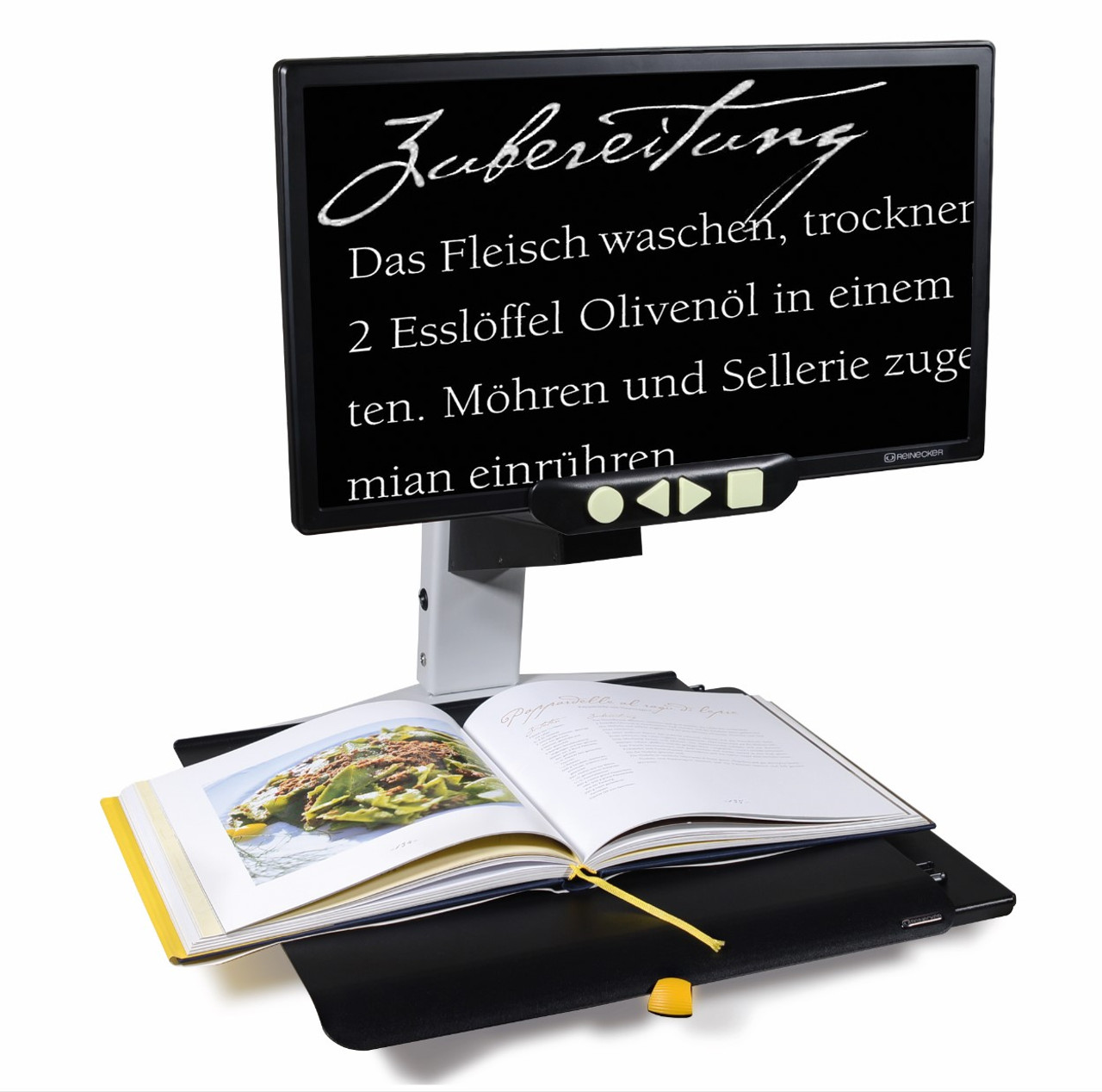 """Reinecker Videomatic 20"""" Electronic Magnifier"""