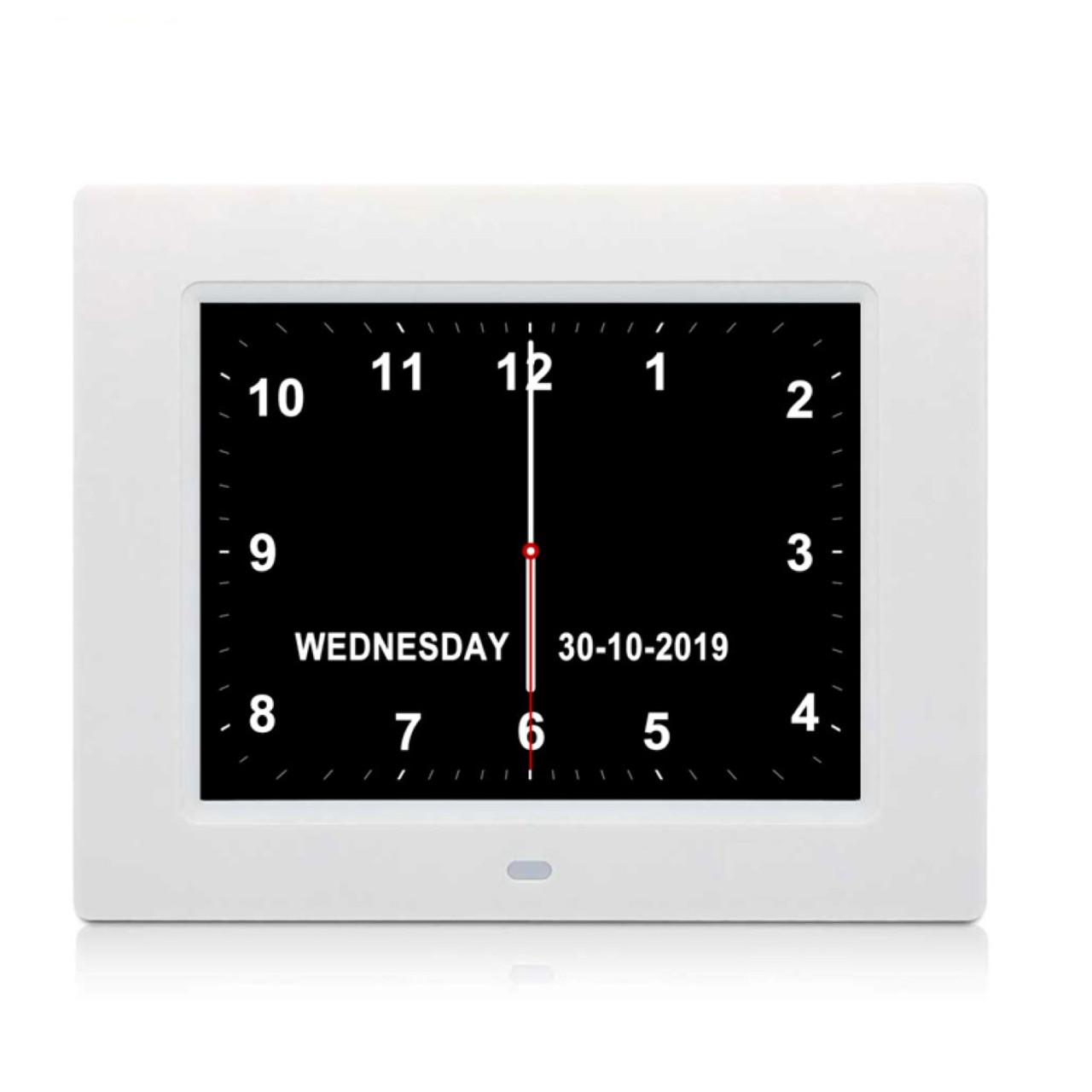 "8"" Full Text Day Clock"